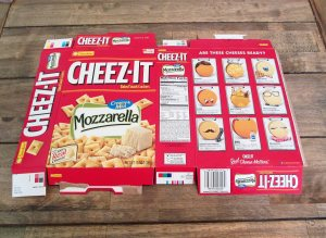 cheez it box deconstructed